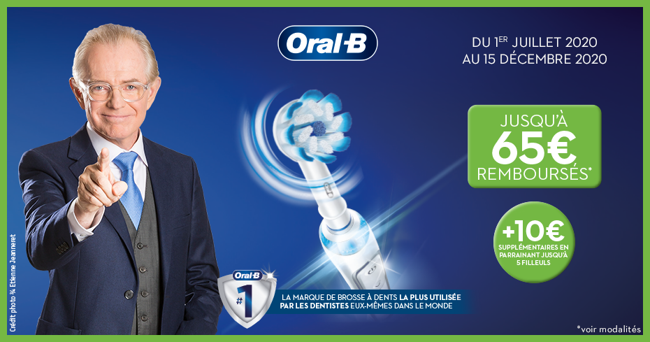 OFFRE ORAL-B